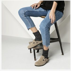 Birkenstock | Boston Suede Leather Clogs